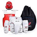 Amazon Com One Set Star Sports Wtf Taekwondo Sparring