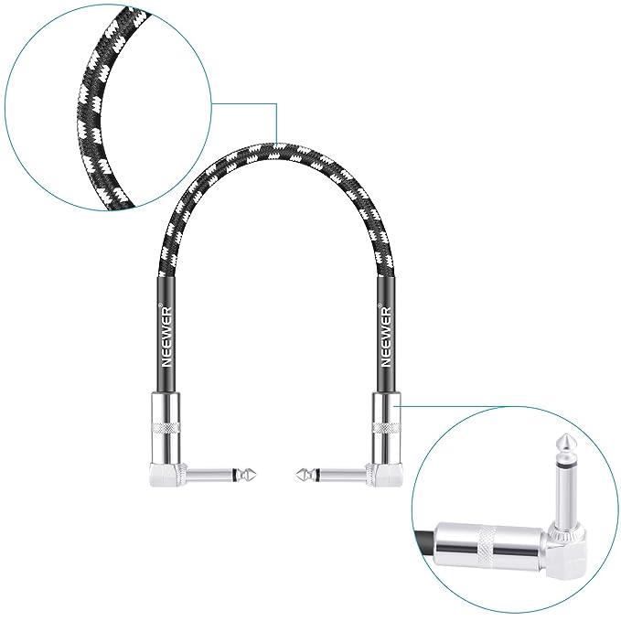 Neewer® 3 Paquete 1 Pie Cable De Conexión Con 1/4