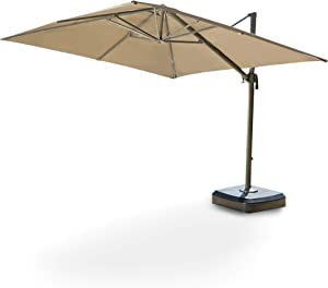 Garden Winds Replacement Canopy Top Cover for The Portofino Cantilever Umbrella - RipLock 500