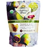 Sunny Fruit Organic Figs, Organic Figs Tender and Juicy Dried Smyrna Figs