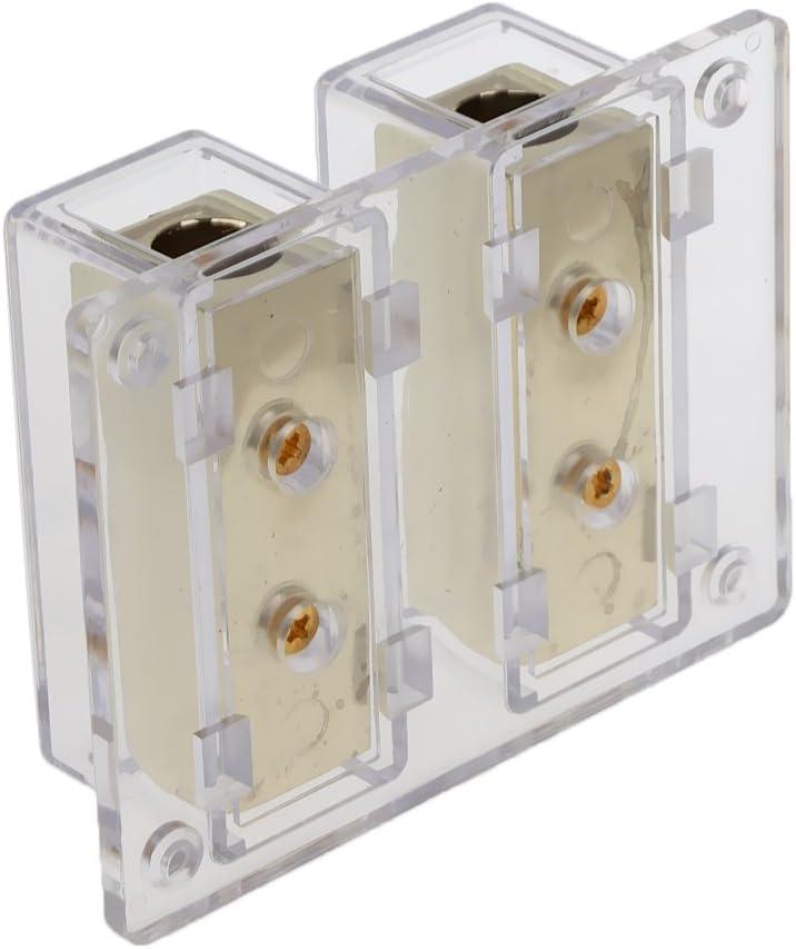 gazechimp 8 Way 4//8 Gauge Car Audio Stereo Amp Power//Ground Cable Distribution Block