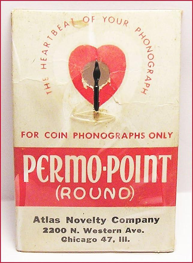 Nos Permo punto moneda fonógrafo Jukebox aguja para primeros ...