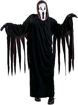 Disfraz infantil de Scream espíritu negro L 158 cm 11-13 años ...