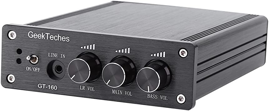 R/écepteur Audio Bluetooth TDA7498E 160W 160W R/écepteur Audio /à Amplificateur Bluetooth 4.0 /à Double Canal avec Antenne et Manuel de lUtilisateur