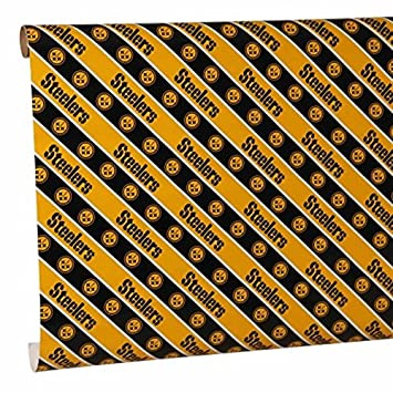Amazon.com : Pittsburgh Steelers Gift Wrap : Sports & Outdoors