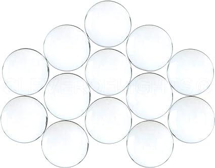 glass 1 cabochon 20 mm round glass 2 cm