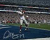 #4: Plaxico Buress Autographed New York Giants 8x10 Photo JSA