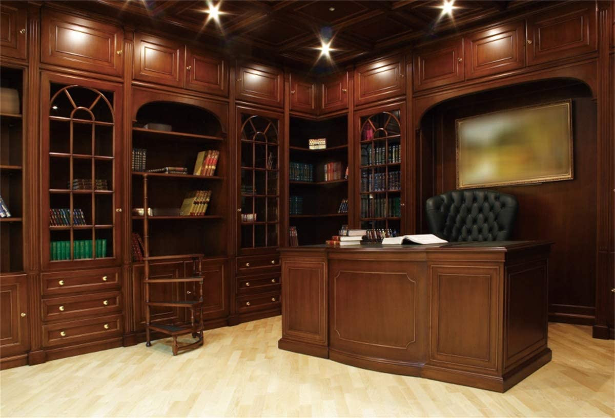 Amazon Com Yeele Private Office Backdrop 7x5ft President Boss Chief Office Room Photography Background Business Interior Design Church Decoration Kids Adults Portrait Photo Studio Props Wallpaper Camera Photo