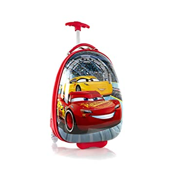 b2d343bbfbaa Heys Cars 3 Rolling Luggage Case  McQueen and Cruz   Amazon.co.uk  Toys    Games