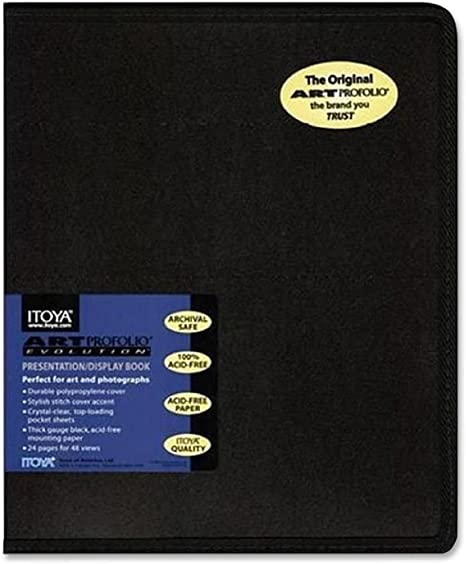 24 Sheets for 48 Pictures 4 Pack Itoya EV-12-5 Art Profolio Evolution 5x7