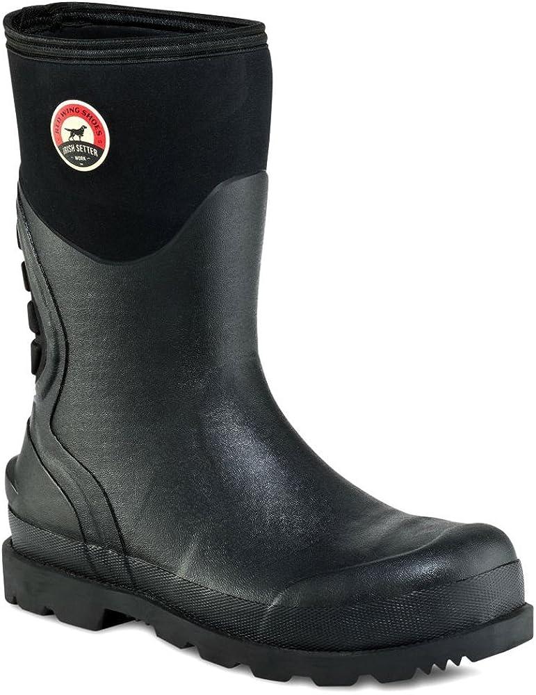 Steel Toe Rubber Boot