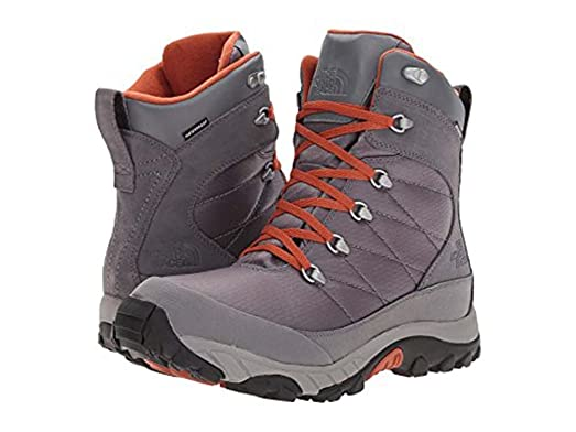 Chilkat Le II Smoked Pearl Grey/Bombay Orange Men's Lace-up Boots