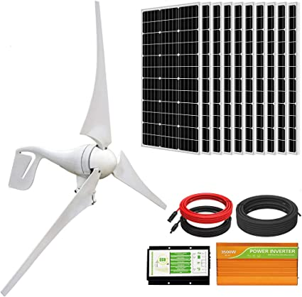 ECO-WORTHY 1400 Watt Wind Solar Power Kit