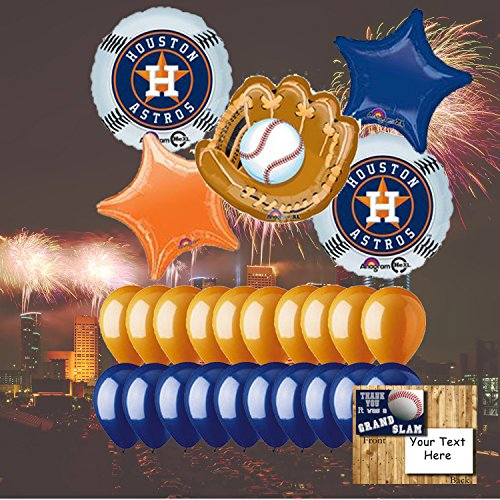 Houston Astros Balloon Set