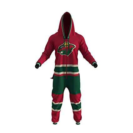Hockey Sockey EXPEDITE Shipping NHL Minnesota Wild Onesie Fan Apparel (XS) a25aa3076
