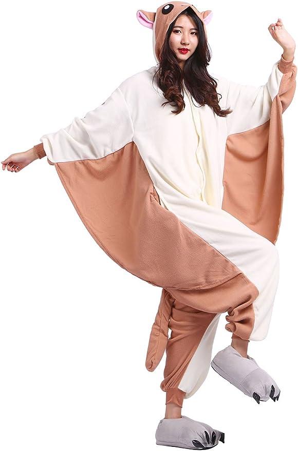 Disfraz de Animal Unisex para Adulto Sirve como Pijama o Cosplay Sleepsuit de una Pieza