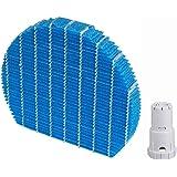 J&Q空気清浄機用交換部品セット 加湿フィルター FZ-Y80MF & Ag+銀イオンカートリッジ FZ-AG01K1?FZ-AG01K2 互換品 (1セット入り) (1セット入り)
