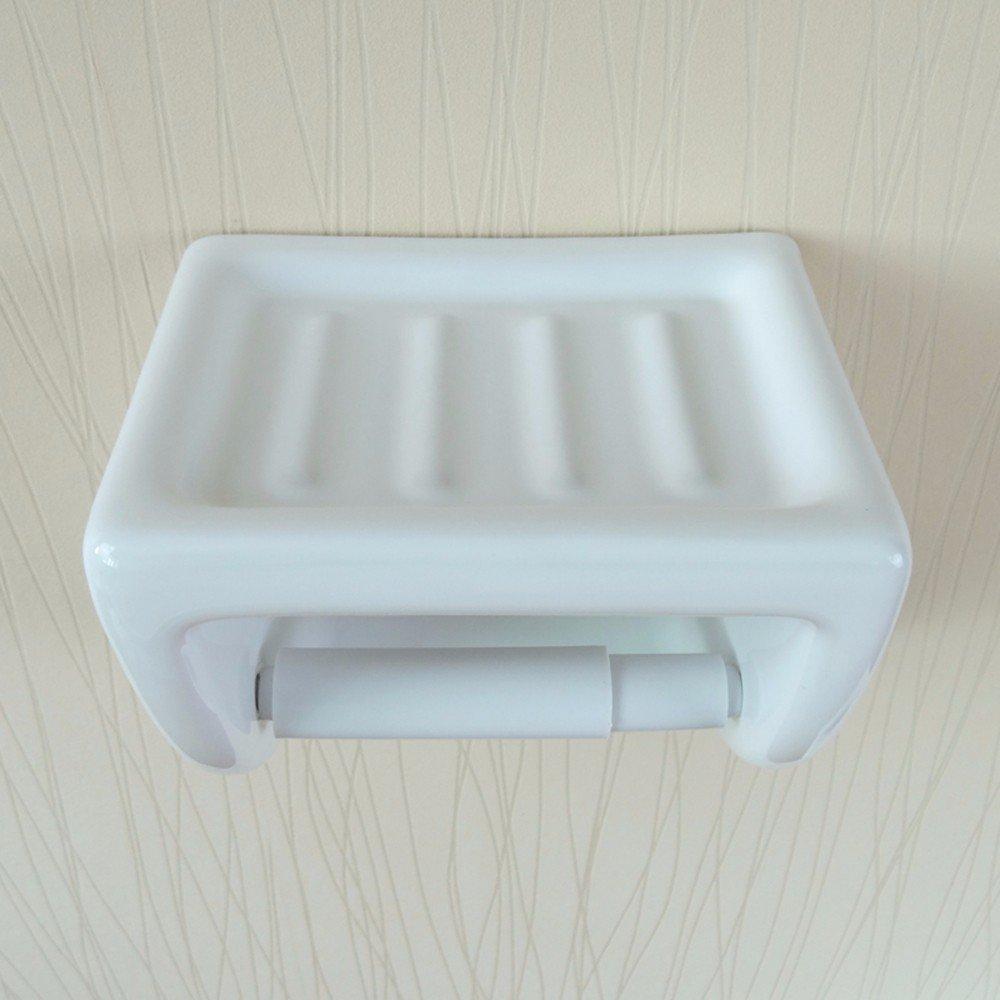 Roca A380227001 Onda plus ou blanc Accessoires de papier toilette titulaire de la baignoire