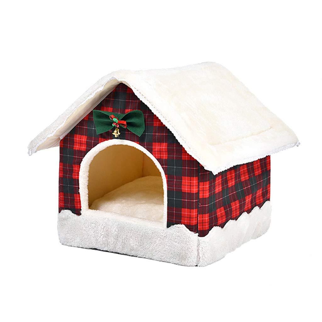 MXJ61 Stuoia per Cuccioli Invernale per Animali Piccolo Lettino per Cani di Medie e Grandi Dimensioni