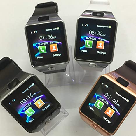 Amazon.com: JIAIIO DZ09 Bluetooth Smart Watch Android Phone ...