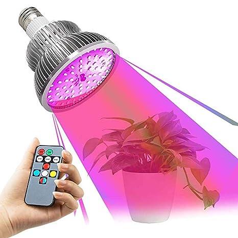 1 Bombilla de cultivo LED, luces de crecimiento LED de ...