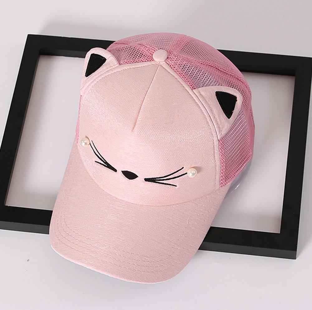 Cat Caps Fashion Caps Ladies Baseball Caps Sun Cap Women Golf Hats Pink by Gentle Meow (Image #2)