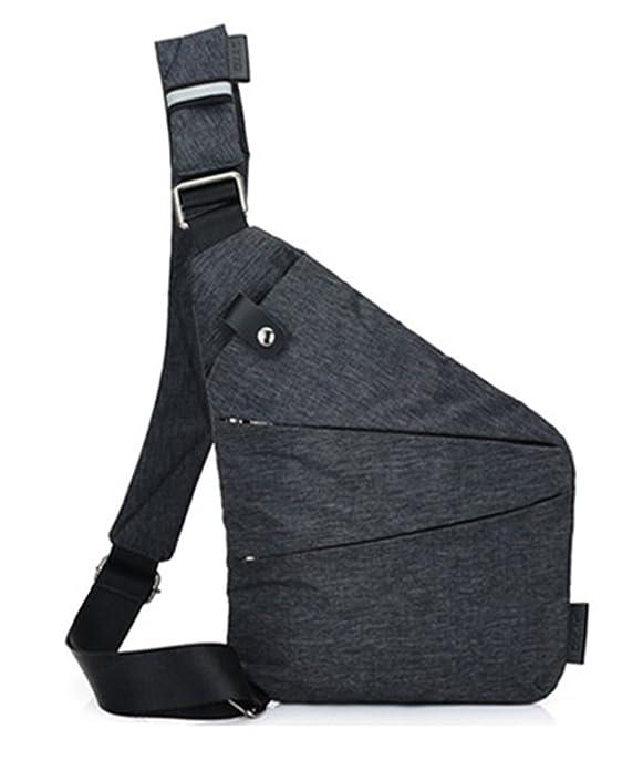 LemonGirl Hombre Mochilas de cabestrillo de la mochila, Mochilas Crossbody de Crossfit para el hombro al aire libre: Amazon.es: Zapatos y complementos