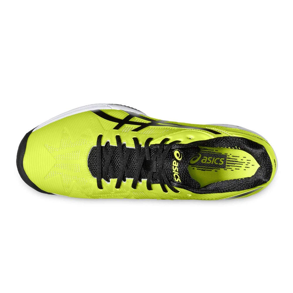 ASICS GEL SOLUTION SPEED 3 CLAY AMARILLO NEGRO E601N 0790: Amazon.es: Zapatos y complementos