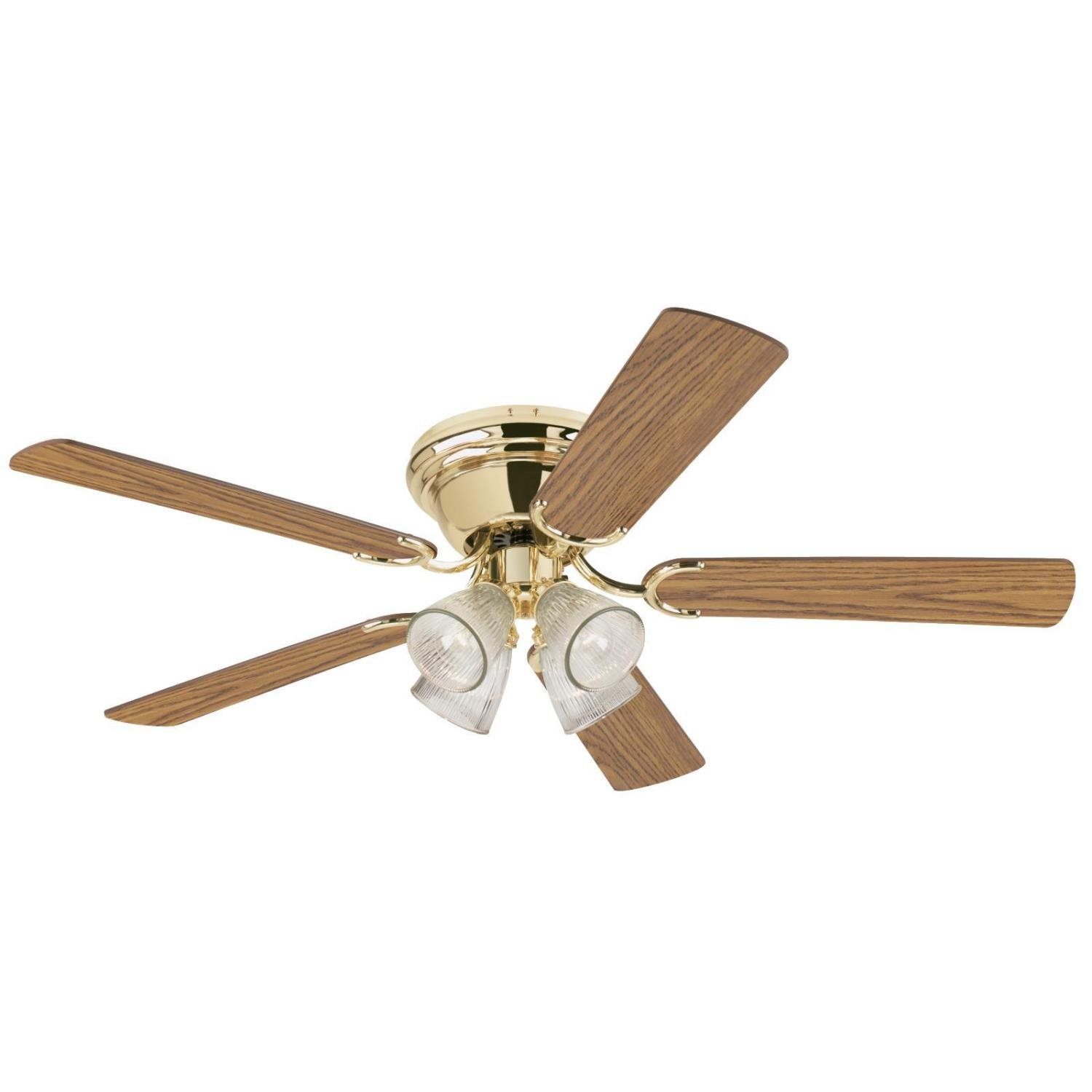 Westinghouse Contempra IV 52 inch Polished Brass Indoor