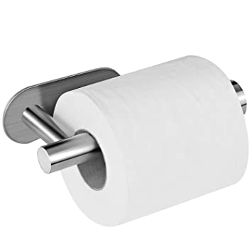 Toilet Paper Holder Aikzik Stainless Steel Wall Mount Self