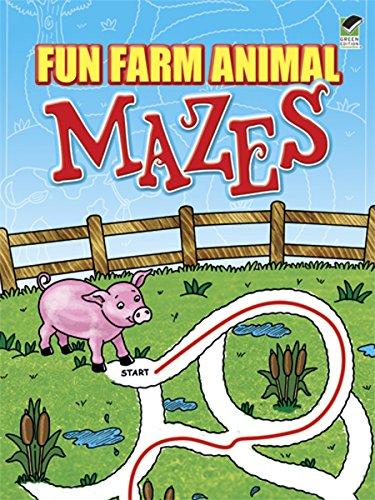 Fun Farm Animal Mazes (Dover Children's Activity Books)