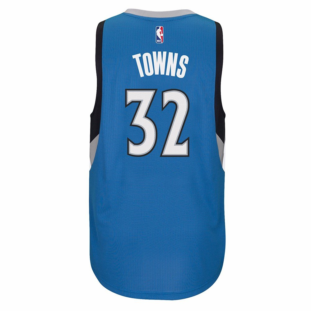 Amazon.com : Karl-Anthony Towns Minnesota Timberwolves Blue Adidas Swingman Jersey : Sports & Outdoors