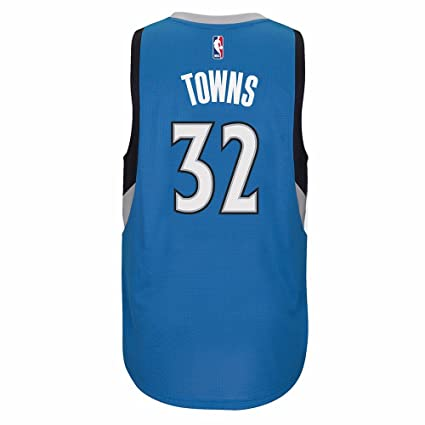 Karl-Anthony Towns Minnesota Timberwolves Blue Adidas Swingman Jersey (XL)