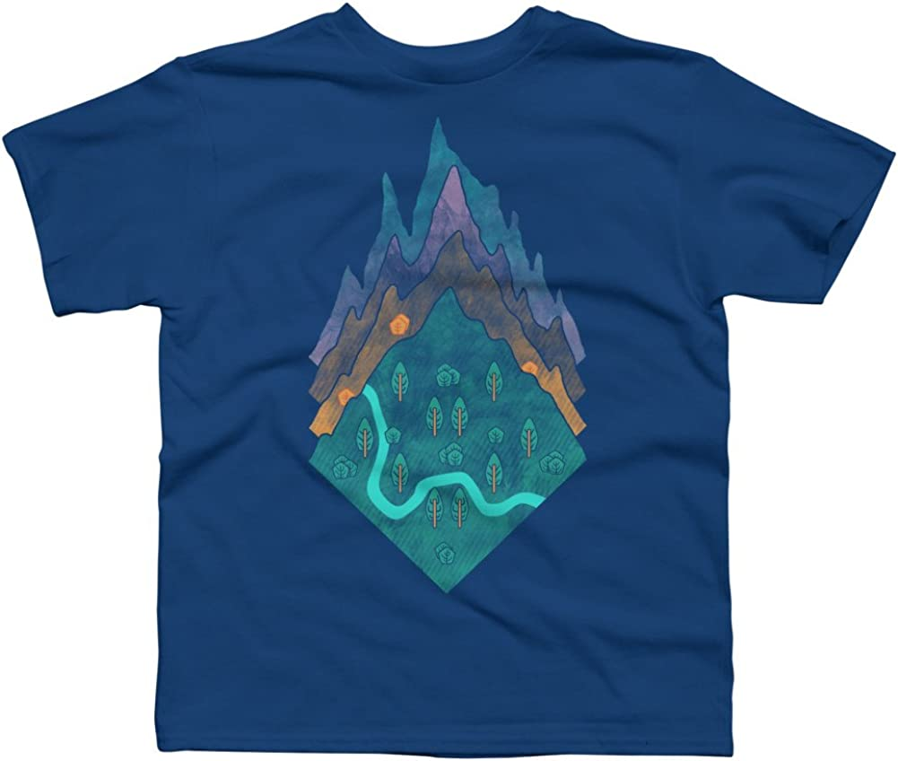 Design By Humans Levels Boys Youth Graphic T Shirt
