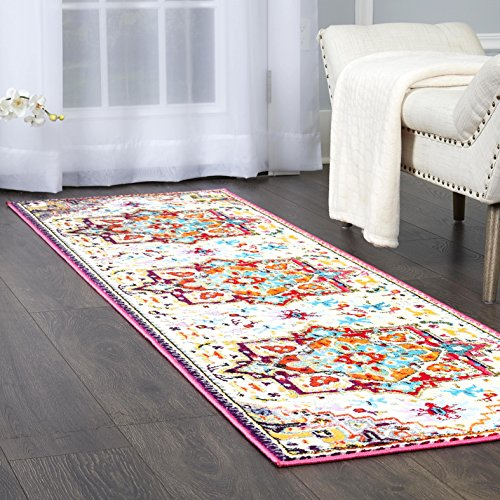 - Home Dynamix Melody Tiana  Runner Area Rug 2'2