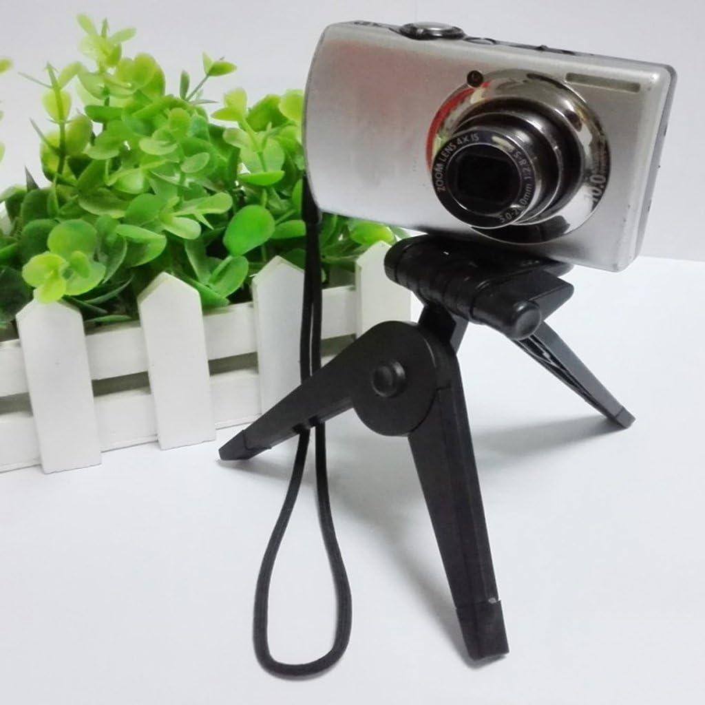 Adjustable Desktop Tripod Stand W//Non-Slip Flexible Rubber Legs for Cameras
