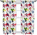 Marvel Avengers 'Mission' 54 inch Drop Curtain Set