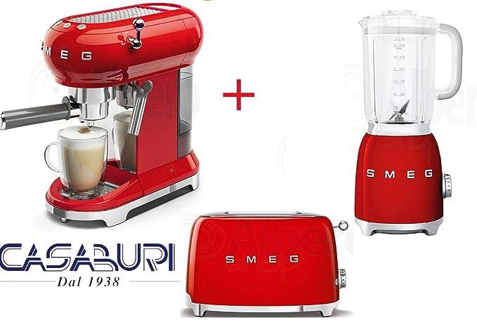 Smeg TLG BLF01 - Juego de 3 bandejas para cafetera espresso y ...
