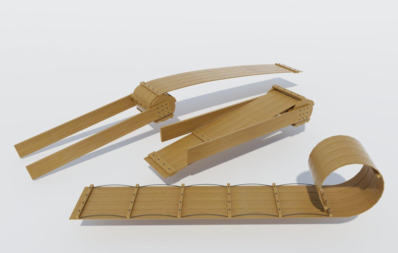 amazon com build your own wooden toboggan diy plans fun sled
