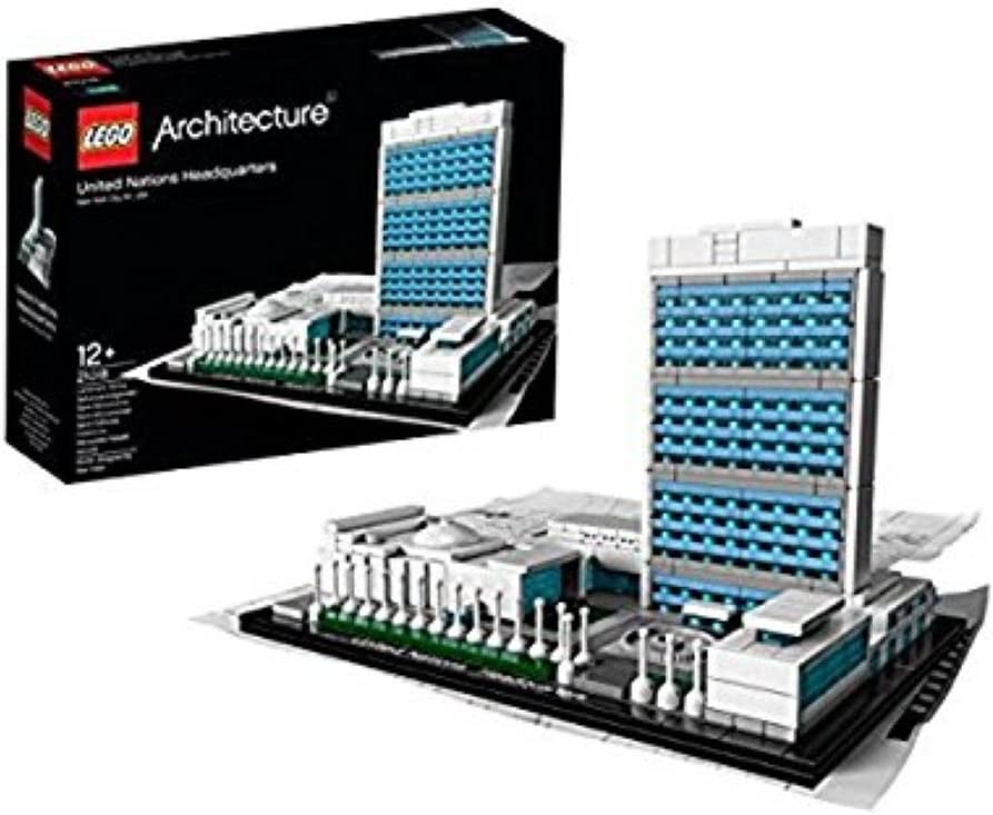 LEGO Architecture 21018: United Nations Headquarters