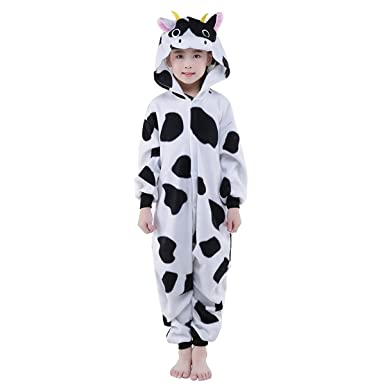 88d9bddb428a Amazon.com  Xiqupjs Lovely Animal Onesie Cosplay Costumes Pajamas ...