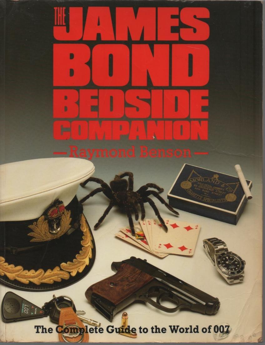 The James Bond Bedside Companion: Raymond Benson: 9781852832339:  Amazon.com: Books