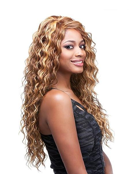 Tsnomore High Quality Mix Color Long Perruque Aux Cheveux Bouclés