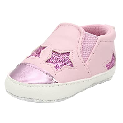 Newborn Girls Boys Shoes HEHEM Baby Girl Boys Five-Pointed Star Letter Shoes Sneaker Anti