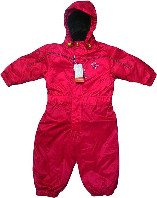 Color Kids - Abrigo para la nieve - para niña rojo rojo: Amazon.es: Ropa y accesorios