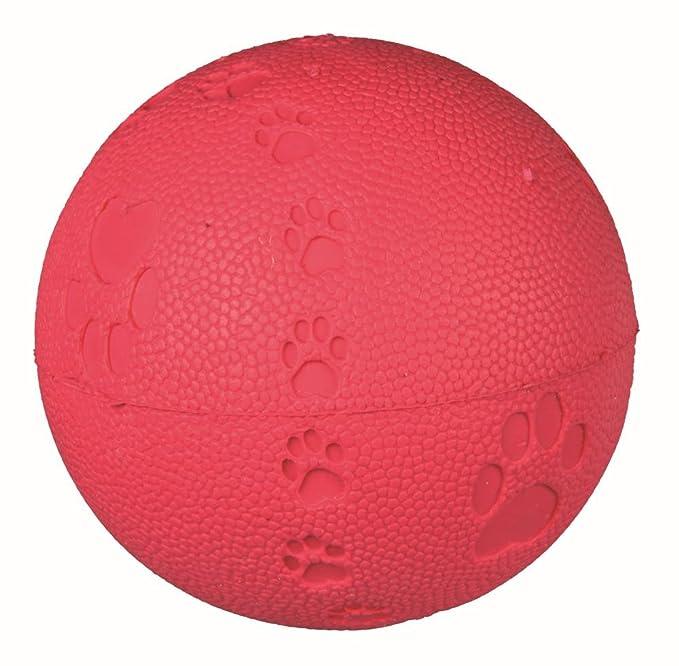 Trixie Balle de Jeu Caoutchouc Naturel Diamètre 9 cm pour Chien