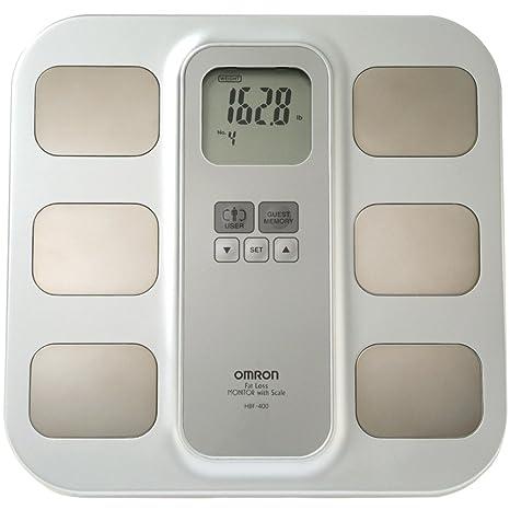 OMRON Healthcare HBF-400 Báscula Personal electrónica Amarillo - Báscula de baño (Báscula Personal