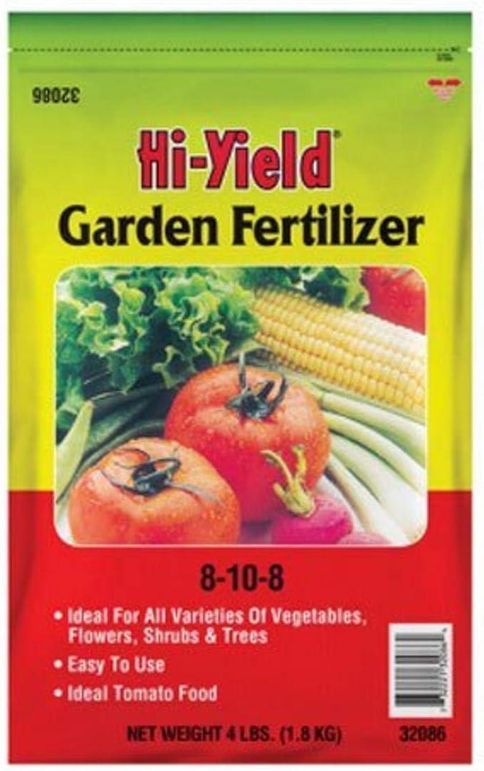 Voluntary Purchasing Group Fertilome 32086Garden Fertilizer, 4-Pound, 8-10-8