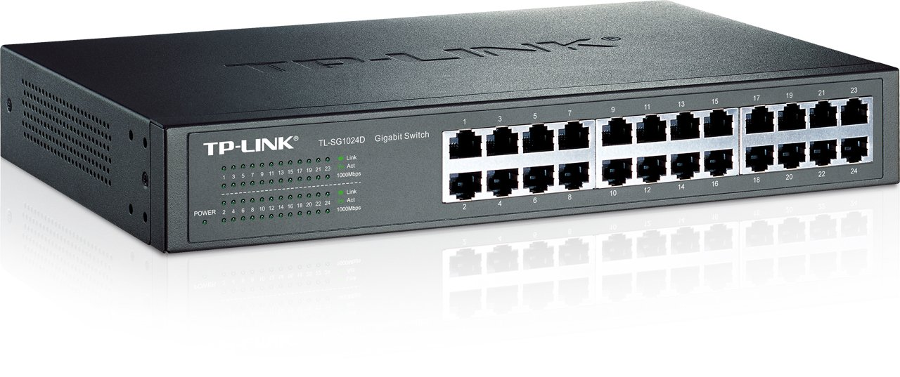 TP-Link 24-Port Gigabit Switch - TL-SG1024D