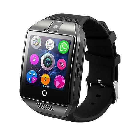 Teepao Smart Watch, Bluetooth inalámbrico, podómetro a prueba de sudor, reloj inteligente con sistema de monitoreo del sueño y pantalla de alta definición, ...